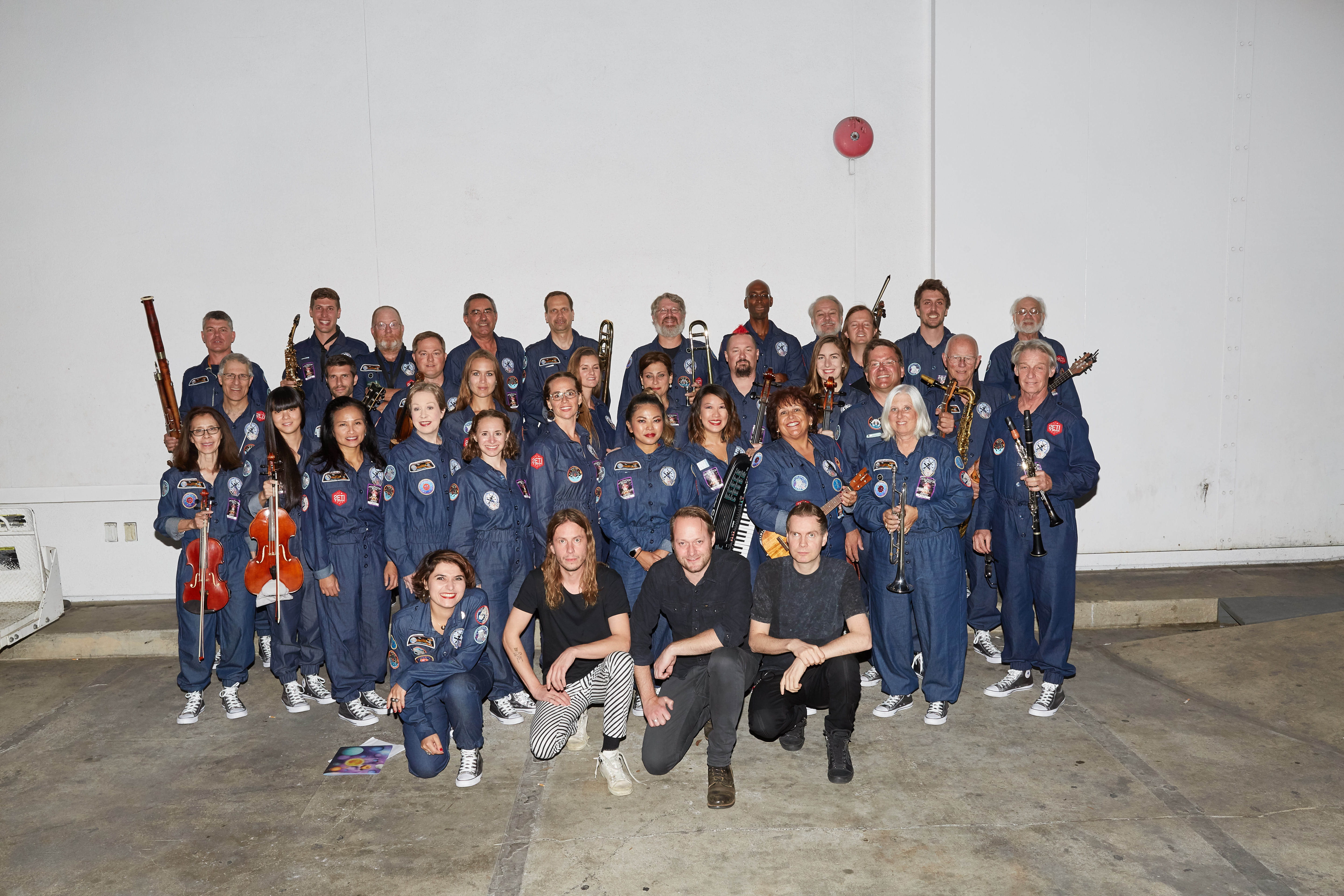 The International Space Orchestra at the Hollywood Bowl Photograph by Aaron Wojack